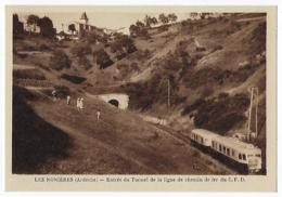 CPA 07 Ardèche Les Nonières Entrée Du Tunnel Train Près De Le Cheylard Saint St Agrève Lamastre Julien Labrousse Prix - France