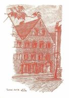 Belgium Les Maisons Romanes (Detail) Sant-Brice Tournai Alain Kolin - Sonstige