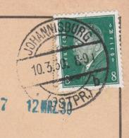 Ostpreussen Deutsches Reich Karte Mit Tagesstempel Johannisburg * Ostpr. B 1930 RB Allenstein Werbung Kartenspielen - Briefe U. Dokumente