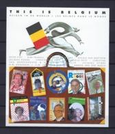 N°BL108ND (genummerd 203) MNH ** POSTFRIS ZONDER SCHARNIER COB € 40,00 SUPERBE - Belgien