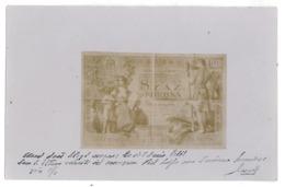 HUN 8 - 12241  Banknote Hungary, 100 SZAZ KORONA - Old Postcard - Used - 1903 - Hungría