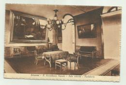 LIVORNO - R.ACCADEMIA NAVALE - SALA INTERNA - PARLATOIO 1928 VIAGGIATA FP - Livorno