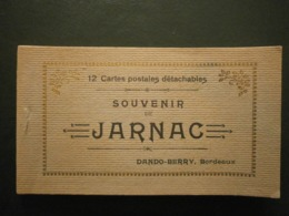 16 Jarnac, Carnet De 12 Cartes (avec La Gare)  (10136) - Jarnac