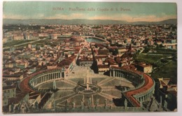 V 10768 Roma - Panorama Della Città Dalla Cupola Di S. Pietro - San Pietro