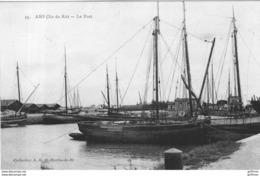 ILE DE RE ARS LE PORT 1918 TBE - Ile De Ré