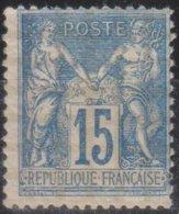 Francia 1892 YvN*101 MLH/* - 1876-1898 Sage (Tipo II)