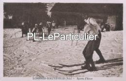 CPA  Lompnès Hauteville (Ain) Sports D'hiver - Hauteville-Lompnes