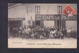Maxeville (54) Cafe Le Pratic Route De Champigneulles ( Animée Jour De Fete Bal Cliché Veisse Frouard En L'état) - Maxeville