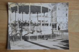 Spa Soldats Allemands Kiosque (vieille Photo (reproduction?) 24 X 30) - Kaufmanns- Und Zigarettenbilder