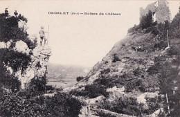 ORGELET       RUINES DU CHATEAU - Orgelet