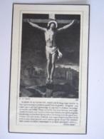 Doodsprentje Léonard Delwaide Ere-notaris Beheerder Koolmijnen Rekem 1869 Petersheim-Lanaken 1944 Echt Aurélie Vijgen - Images Religieuses