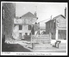 1980  --  LE BOURGET  CE QUI RESTAIT DE L AUBERGE DU CHEVAL ROUGE EN 1976  3R716 - Sin Clasificación