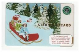 STARBUCKSCARD Starbucks Gift Card USA - 2007 6038 - Gift Cards