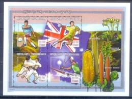 O138- Madagascar Madagaskar 2000 Sydney Olympic Games. Flag. Football Soccer Plants Tree. - Sommer 2000: Sydney - Paralympics