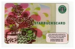 STARBUCKSCARD Starbucks Gift Card USA - 2007 6042 - Gift Cards