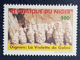 NIGER 2011 LEGUMES FRUITS OIGNONS VIOLET LA VIOLETTE DE GALMI - RARE MNH - Niger (1960-...)