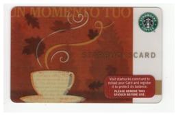 STARBUCKSCARD Starbucks Gift Card USA - 2007 6046 - Gift Cards