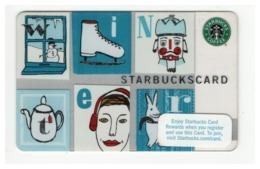STARBUCKSCARD Starbucks Gift Card USA - 2008 6047 - Gift Cards