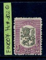 Finland - Finnland, Michel # 102 USED/Gestempelt - 1856-1917 Amministrazione Russa