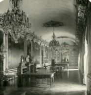 France Chateau De Chantilly Galerie Des Batailles Ancienne Photo Stereo NPG 1900 - Photos Stéréoscopiques