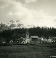 Suisse Sils Maria Piz Da La Margna Ancienne Photo Stereo 1900 - Photos Stéréoscopiques
