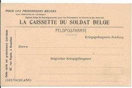 Feldpostkarte Van La Caissette Du Soldat Belge, Niet Gebruikt - WW I