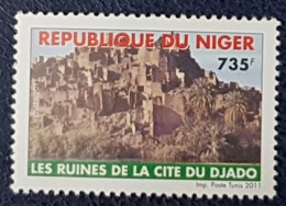 NIGER 2011 RUINES CITE DJADO CITY  - RARE MNH - Niger (1960-...)