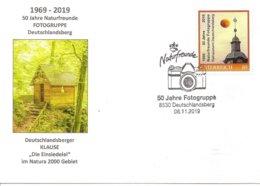Oblitération Temporaire De Deutdchlanders (autriche) 50 Jahre Fotogruppe Sur Timbre Personnalisé - Fotografie