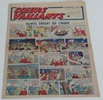 Coeurs Vaillants 16 Août 1942,(Tintin:le Crabe Aux Pinces D'or) - Vaillant
