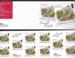FALKLAND ISLANDS, 2019, MNH,  BIRDS, DEFINITIVES, REPRINT, SELF ADHESIVE BOOKLET - Otros