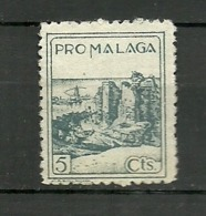 Pro Malaga - Verschlussmarken Bürgerkrieg