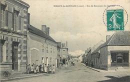 CPA 45 Loiret Sceaux Du Gatinais Rue De Beaumont Du Gatinais Chaussures - France