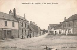 80 Hallencourt Le Bureau Des Postes Bureau De Poste PTT - Autres Communes
