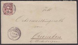 SG    WALLENSTADT - QUINTEN  /  1886 - 1882-1906 Armoiries, Helvetia Debout & UPU