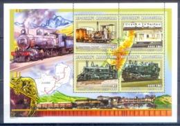O144- Madagascar Madagaskar 2000. Transport. Trains. - Trains