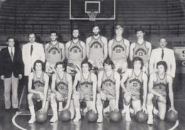 Basketball , Squadra Pallacanestro Snaidero Campionato Nazionale Serie A 1971-72 ; Italy - Italie