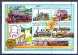 O146- Madagascar Madagaskar 2000. Transport. Trains. - Trains