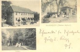 Sasbach Gasthaus Zum Engel Anlagen Gl1903 #a2050 - Allemagne