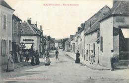 CPA 45 Loiret Sceaux Du Gatinais Rue De Beaumont - France
