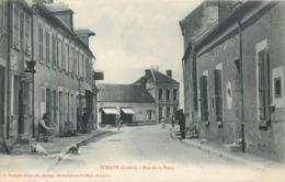 CPA 45 Loiret Sceaux Du Gatinais Rue De La Poste - France