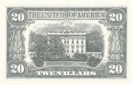 Billet Factice 20 Twentllars    Bon état  Pli Central - Banknotes