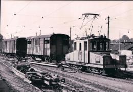 Suisse, Chemin De Fer Schaffhouse, Train à Schaffhouse Gare De Marchandises, Photo 1964 BVA, Sch ST 19.2 - SH Schaffhausen