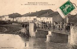 54 Moncel Sur Seille, Le Pont Sur La Loutre Noire - Francia