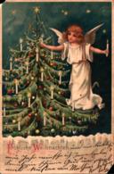 Noel 526, Ange Sapin Bougie - Natale