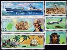 Nauru - 1974 - 175th Anniversary Of Nauru's First Contact With Outside World - Mint Stamp Set - Nauru