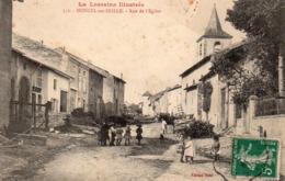 54 Moncel Sur Seille, Rue De L'église - Francia