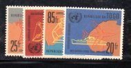 GF923 - TOGO , Serie  N. 340//43  ***  MNH  Onu - Togo (1960-...)