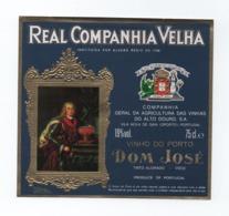 ADVERT LABEL PORT WINE VINHO DO PORTO PORTUGAL WINES VIN VILA NOVA DE GAIA - Etiquettes