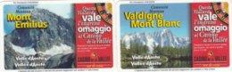 VIACARD COMUNITA MONTANA VALDIGNE MONT BLANC E MONT EMILIUS VALLE D' AOSTA - Italia