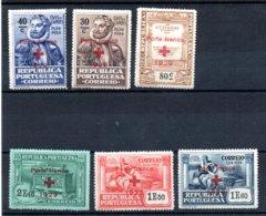 N° 38/43 ** ( Porte Franco + )  - 1929 - Franchise